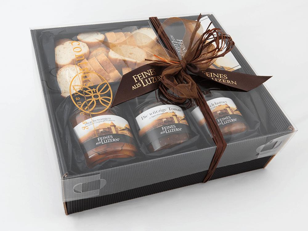 Geschenk-Box «Apéro» - Feines aus Luzern®