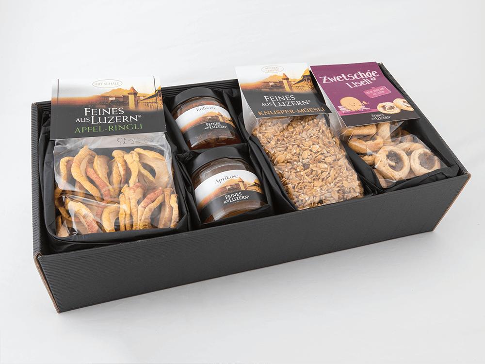 Geschenk-Box «z\'Morge» - Feines aus Luzern®