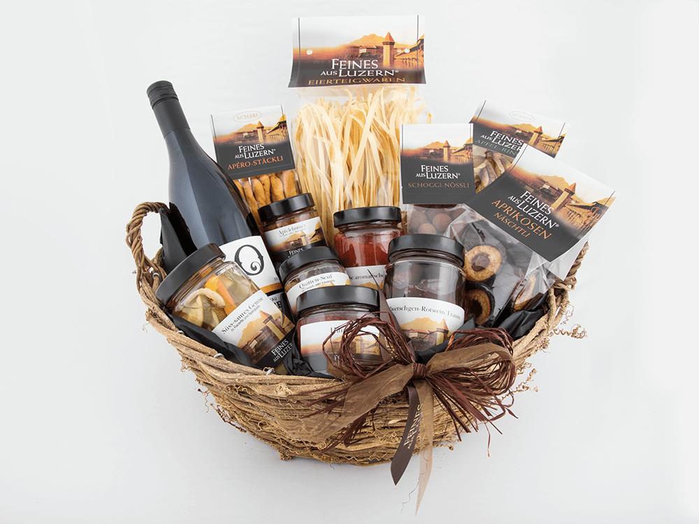 Geschenkkorb «Dankeschön» - Feines aus Luzern®